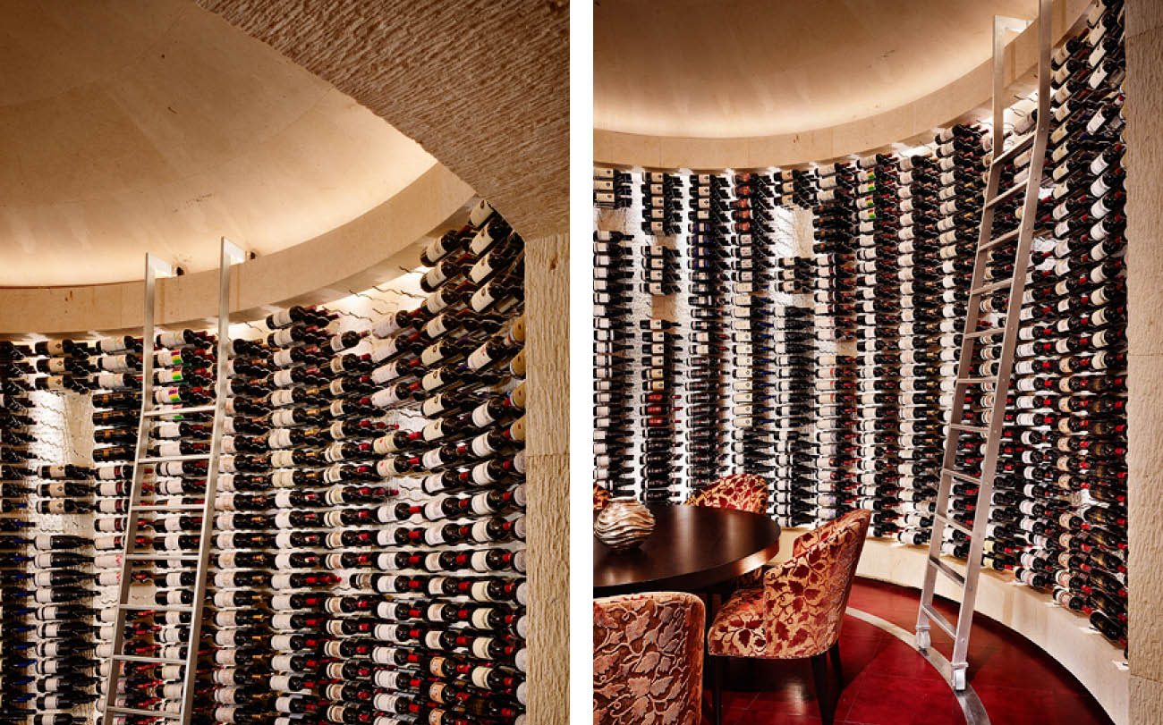 Barrel Vaulted Wine Room 13004